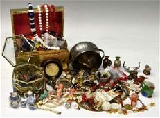 242 HUGE COLLECTION JEWELRY JUNK PARTS  PIECES