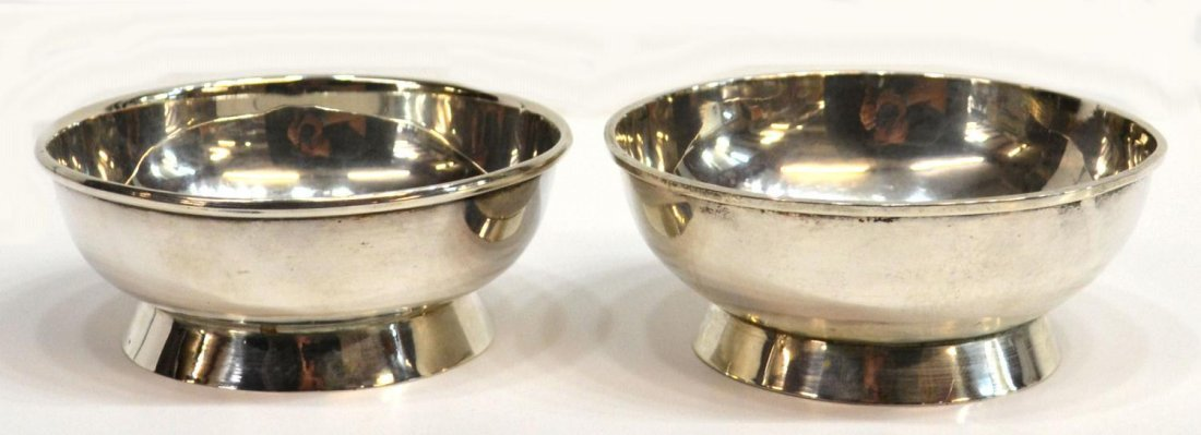 15: SMALL VINTAGE SZS MEXICAN STERLING SILVER BOWLS
