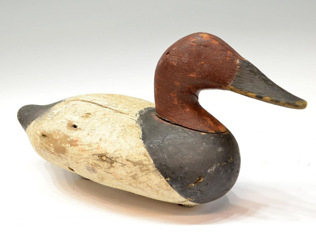 473: VINTAGE DUCK DECOY ATTRIBUTED TO MADISON MITCHELL