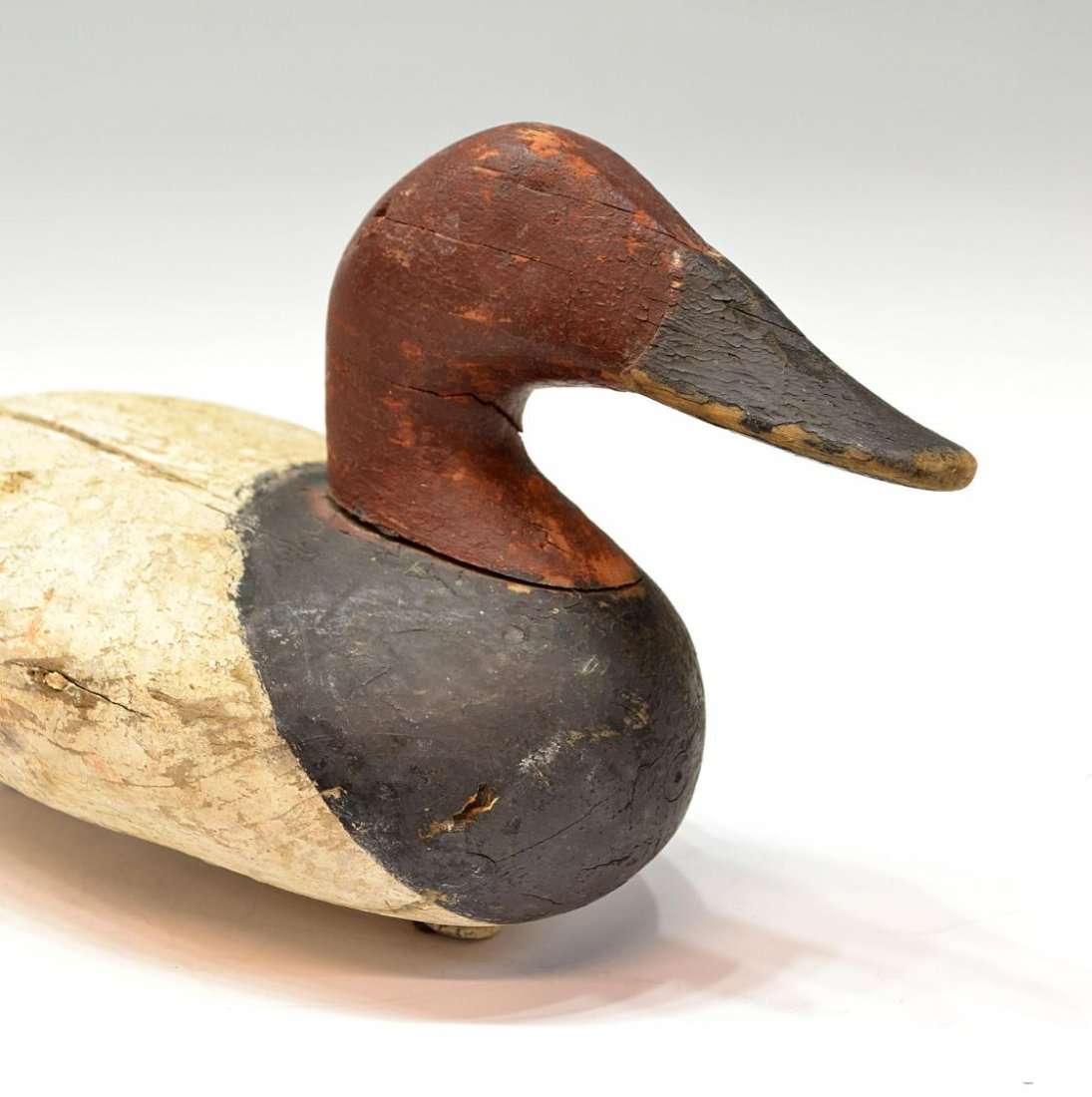 473: VINTAGE DUCK DECOY ATTRIBUTED TO MADISON MITCHELL - 2