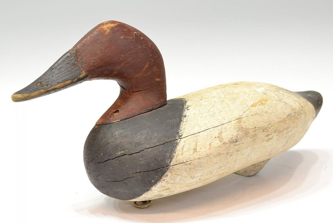 473: VINTAGE DUCK DECOY ATTRIBUTED TO MADISON MITCHELL - 3