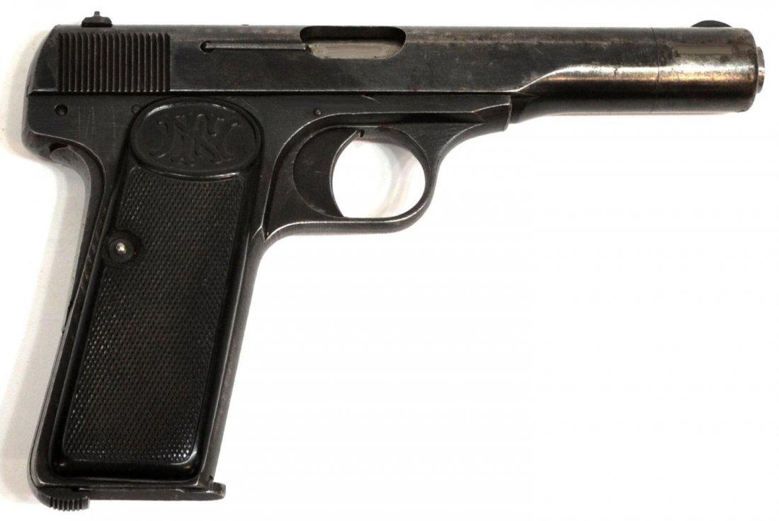 14: FN BELGIUM BROWNING MODEL 1922 NAZI MARKED PISTOL