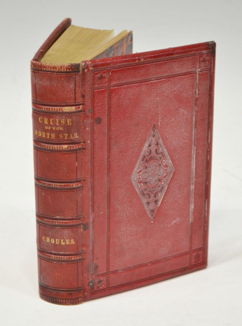 21: BOOK: CRUISE OF THE NORTH STAR, FIRST EDITION 1854