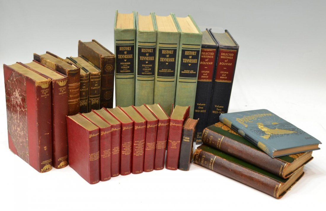 23: (24) BOOKS: HISTORY OF TENNESSEE, OTHERS