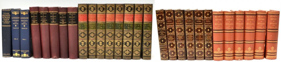 24: (28) BOOKS: LEATHER BOUND SETS AND OTHERS