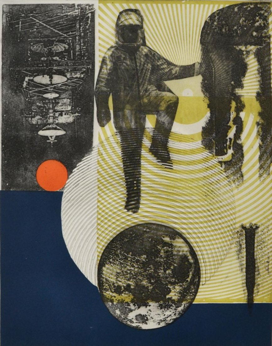 516: MODERN PRINT, ONE GIANT LEAP, MARJORIE TOMCHUK - 2