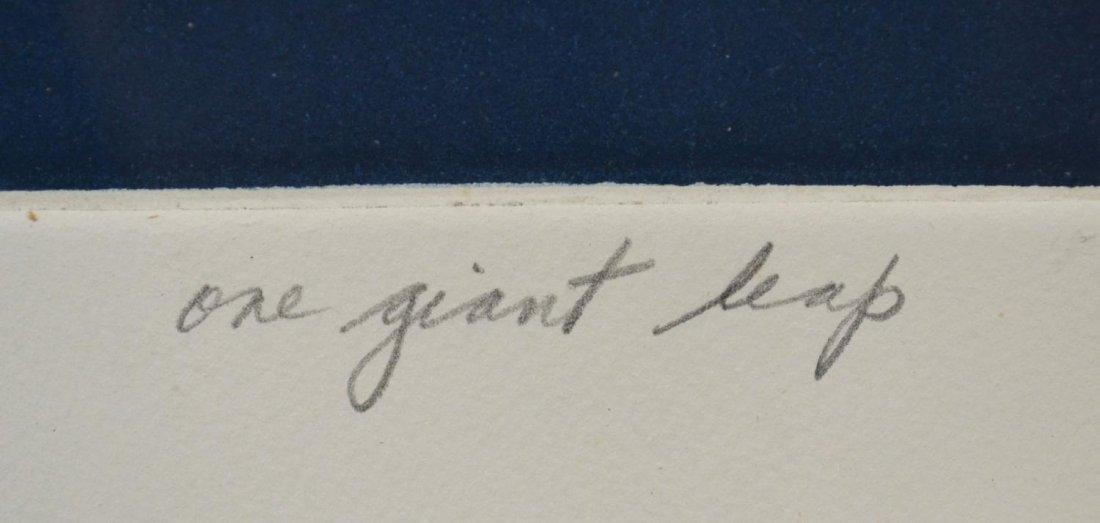 516: MODERN PRINT, ONE GIANT LEAP, MARJORIE TOMCHUK - 4