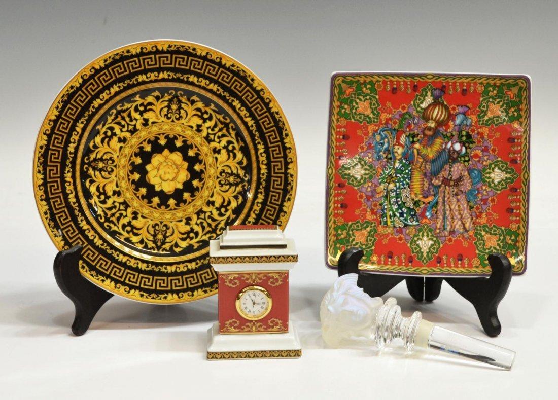 522: VERSACE ROSENTHAL 'MEDUSA' & 'FLORALIA GOLD' GROUP
