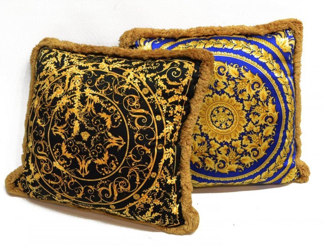 Versace throw pillows | Etsy