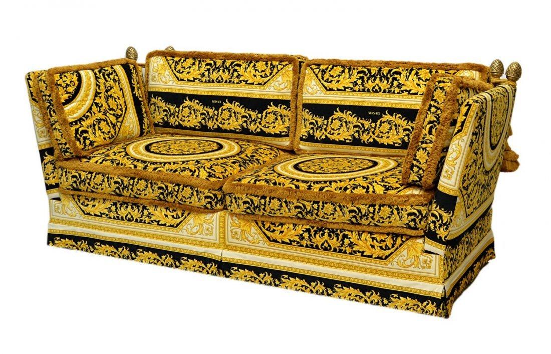 662 Versace Medusa Upholstered Orleans Sofa