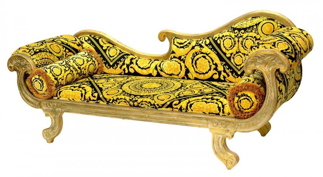 663 versace milady medusa upholstered sofa - Canape versace ...