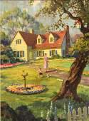 708: PAINTING, HY (Jr.) HINTERMEISTER (1897-1972)