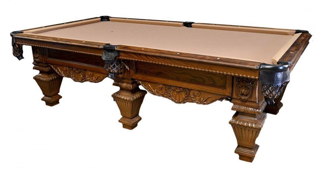 778: PETER VITALIE 'LORD NELSON' SIGNATURE POOL TABLE - 2
