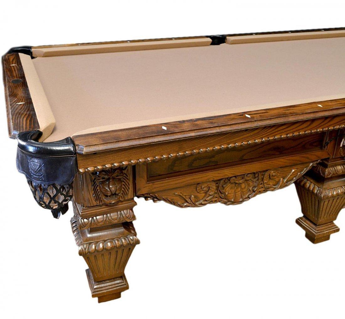 778: PETER VITALIE 'LORD NELSON' SIGNATURE POOL TABLE - 7
