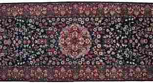 """848: INDO-PERSIAN TABRIZ RUG RUNNER, 14'8"""" x 2'.6"""""""