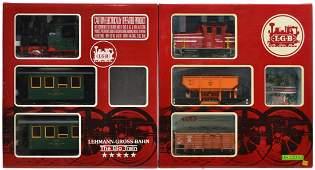 114 2 LGB TWO TRAIN SETS 20518 EK 20534 MF