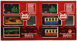 119 2 LGB TWO TRAIN SETS 20301 US 21401 US
