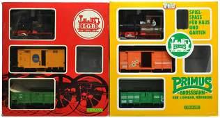 121 2 LGB TWO TRAIN SETS 20401 91401