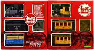 122 2 LGB TWO TRAIN SETS 20287 20528