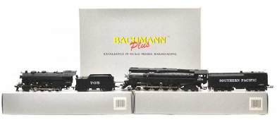 399 3 BACHMANN PLUS LOCOMOTIVES  TENDERS BOXES