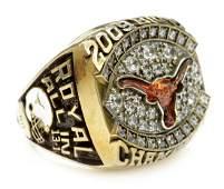 503: RING:2009 TEXAS FOOTBALL, BIG 12 CHAMP, D.K ROYAL