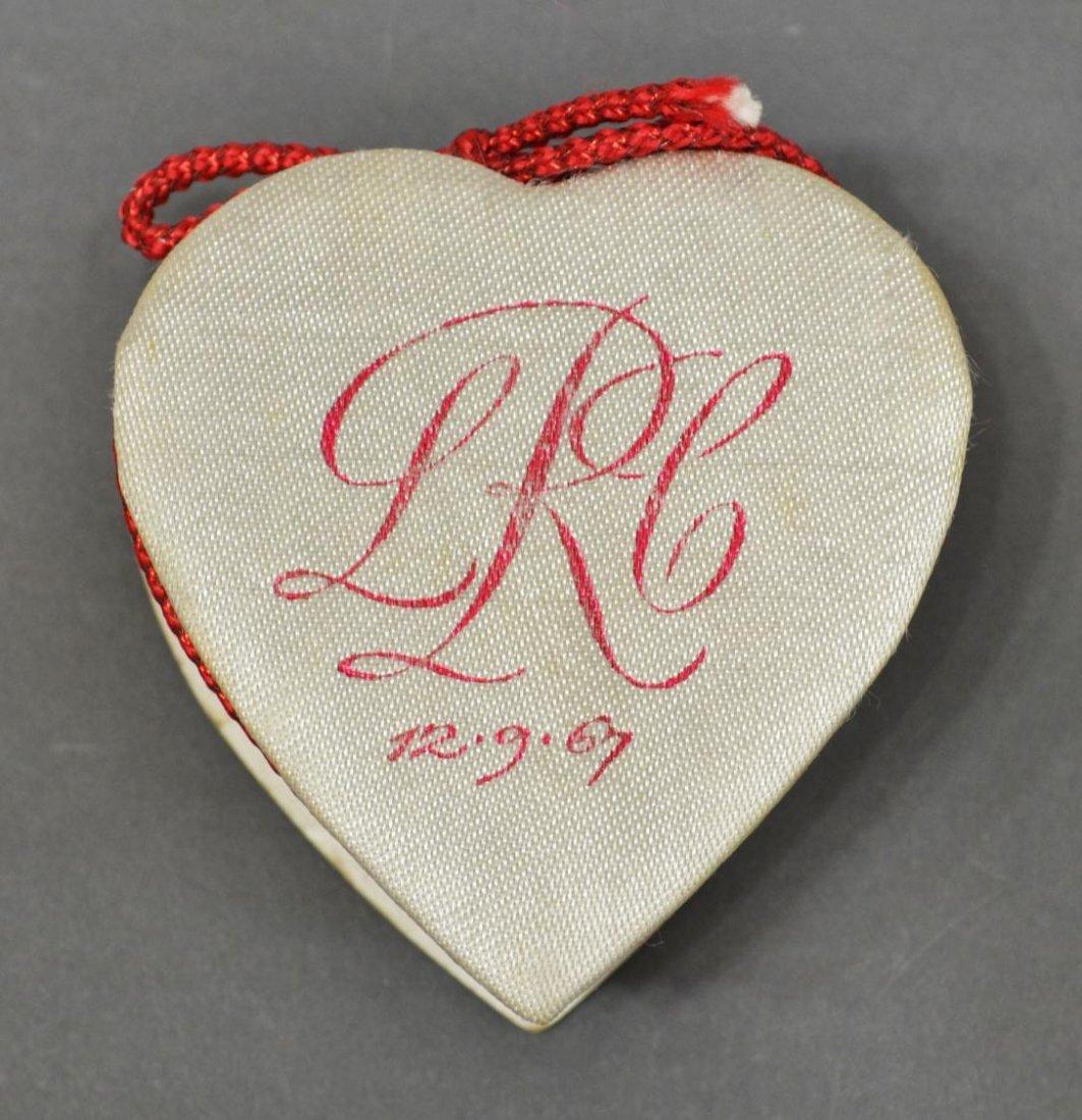 623: LYNDA BIRD JOHNSON & CHARLES ROBB WEDDING BOX