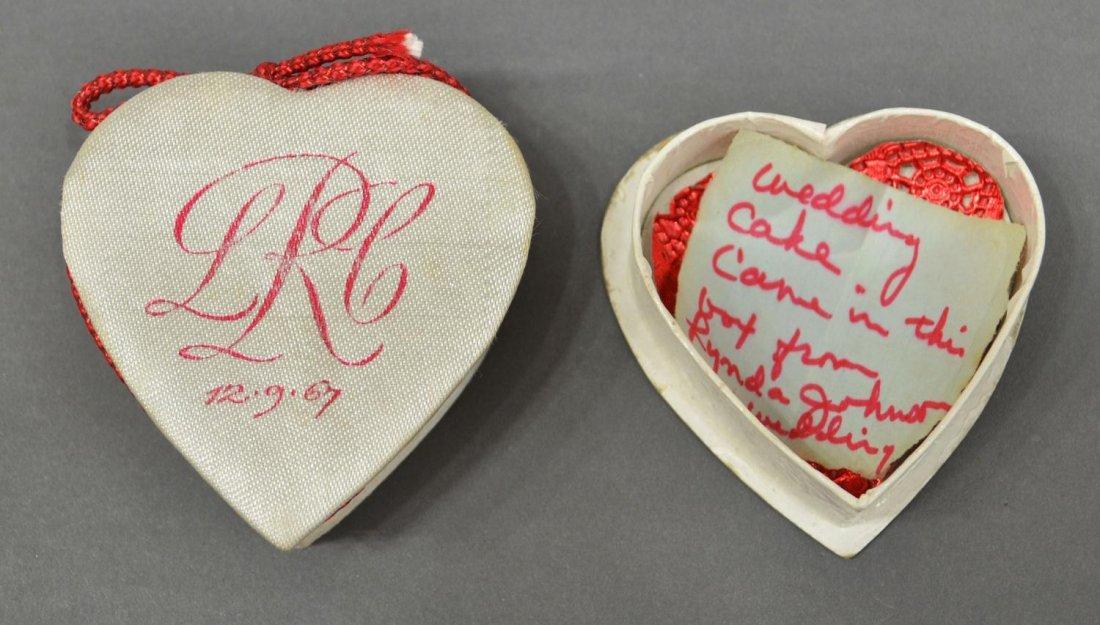 623: LYNDA BIRD JOHNSON & CHARLES ROBB WEDDING BOX - 2