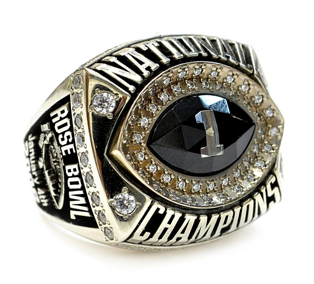640: RING: 2006 TEXAS FOOTBALL, ROSE BOWL, D.K ROYAL