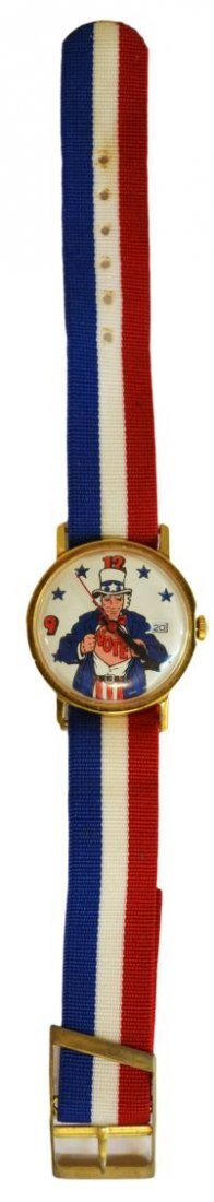 646: VINTAGE MICKEY MOUSE,BUCK OWENS,UNCLE SAM WATCHES - 6