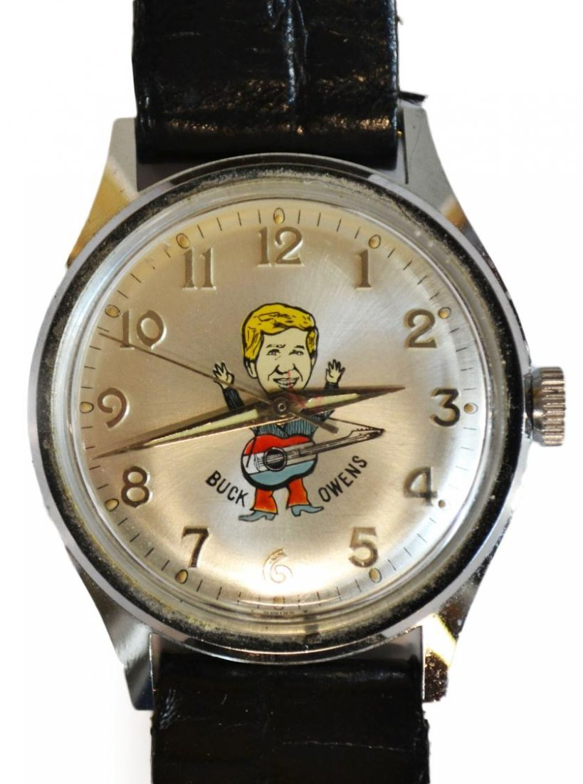 646: VINTAGE MICKEY MOUSE,BUCK OWENS,UNCLE SAM WATCHES - 7