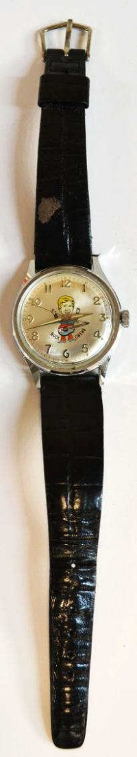 646: VINTAGE MICKEY MOUSE,BUCK OWENS,UNCLE SAM WATCHES - 8
