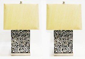 21: DESIGNER JEFFAN KIMOTO MODERN TABLE LAMPS