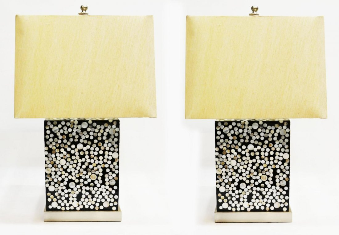 21: DESIGNER JEFFAN KIMOTO MODERN TABLE LAMPS