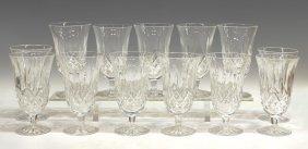 11: (13) WATERFORD CUT CRYSTAL 'LISMORE' GLASSES