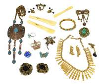 489: VINTAGE TO MODERN ESTATE COSTUME JEWELRY GROUP