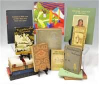 510: (15) BOOKS, ALICE WONDERLAND, CHRISTMAS CAROL
