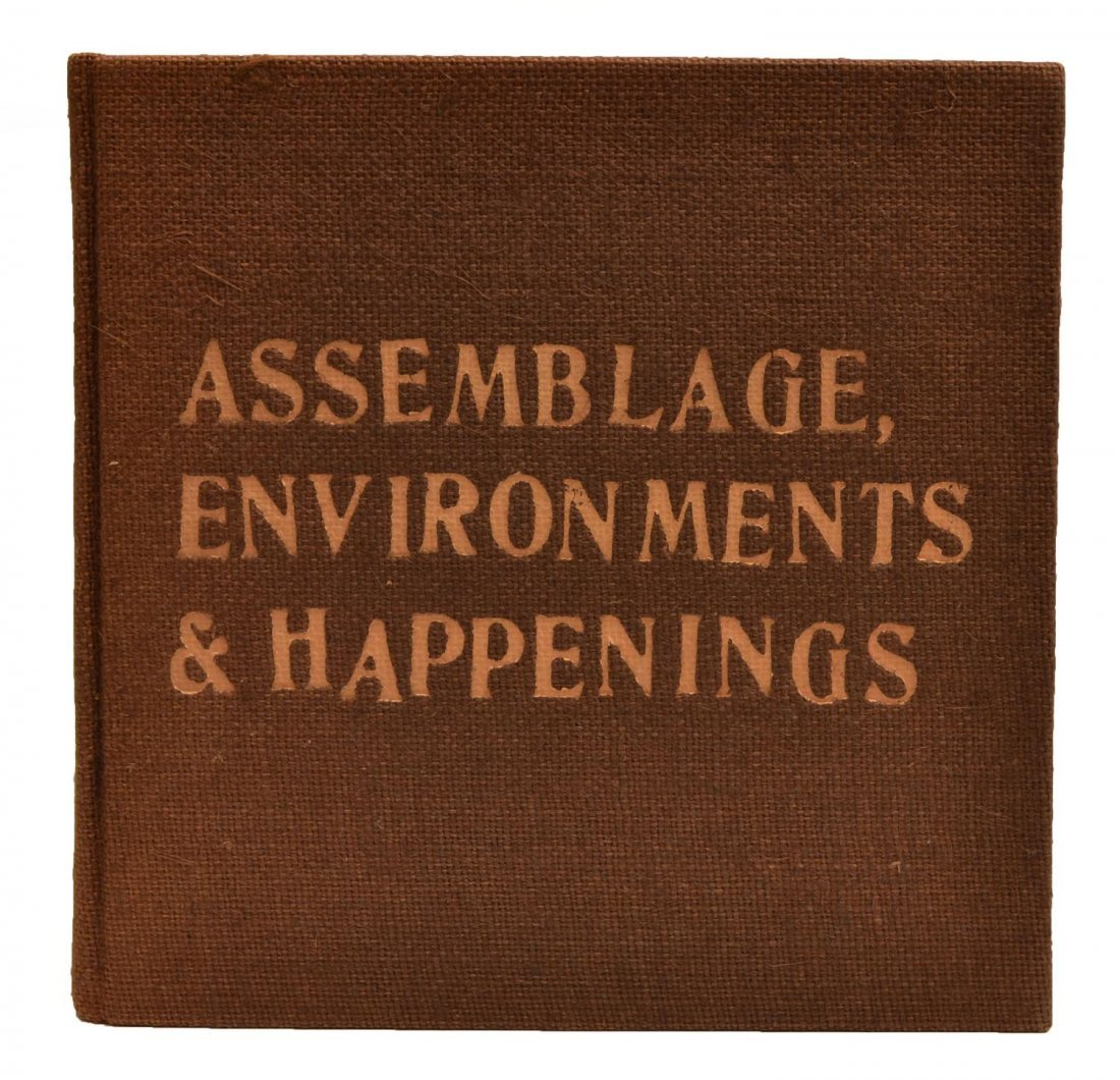ASSEMBLAGE ENVIRONMENTS & HAPPENINGS, KAPROW, 1966