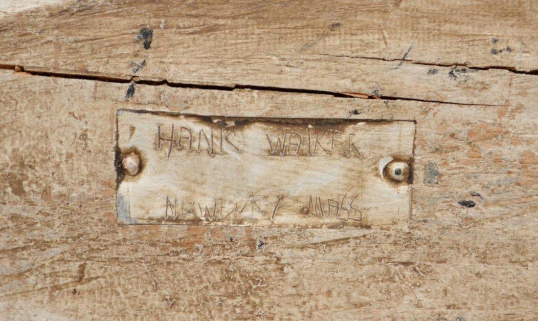"""HANK WALKER CARVED & PAINTED """"LOON"""" DECOY - 4"""
