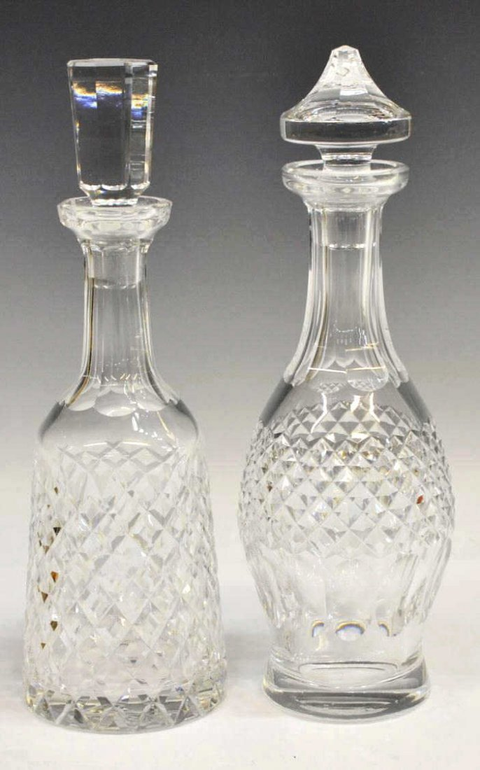 (2) WATERFORD CRYSTAL DECANTERS, ALANA & COLLEEN