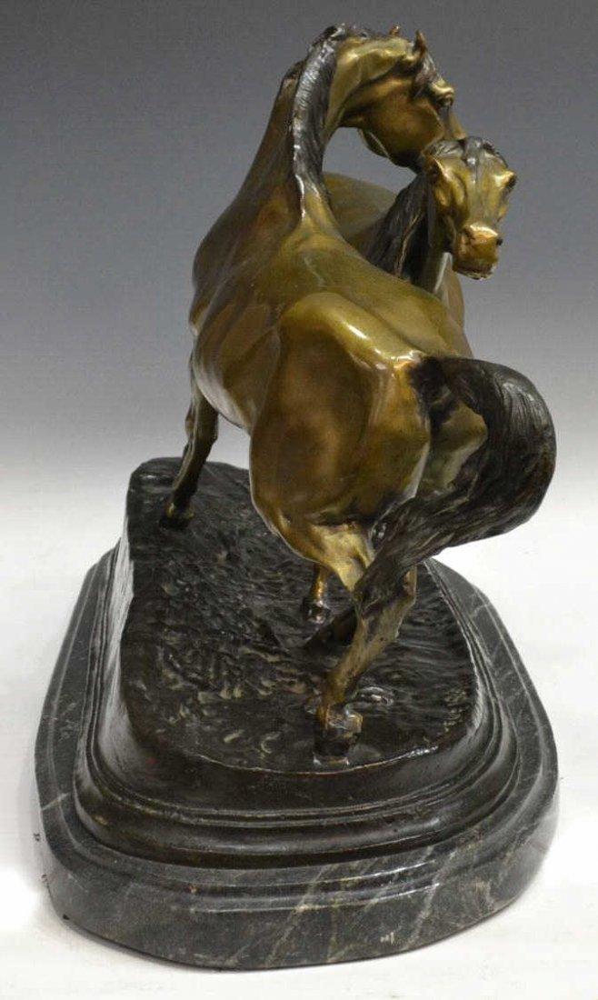 BRONZE HORSES, L'ACCOLADE, AFTER PJ MENE - 3