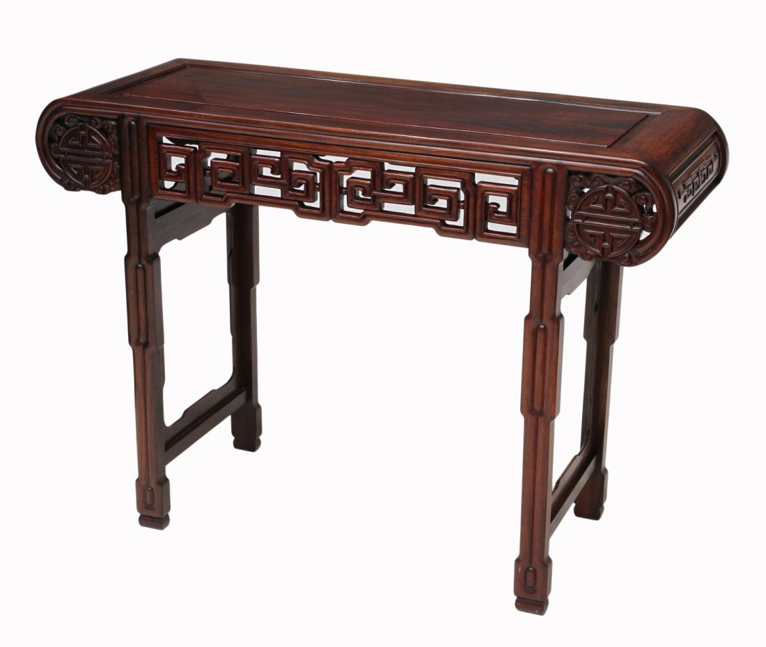 MONUMENTAL CHINESE IVORY FIGURAL GROUP & TABLE - 10