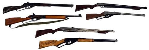 (6) DAISY BB GUNS