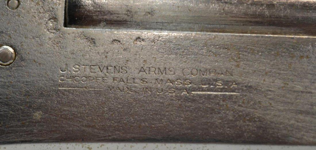 (3) STEVENS 12 GAUGE SHOTGUN & IMPERIAL 12 GAUGE - 9
