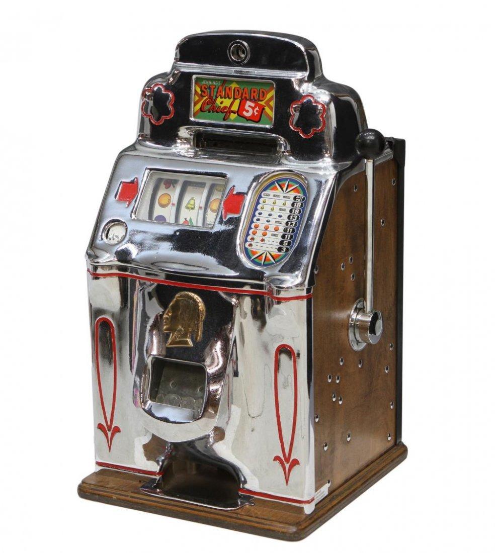 Five cent slot machines card gambling master