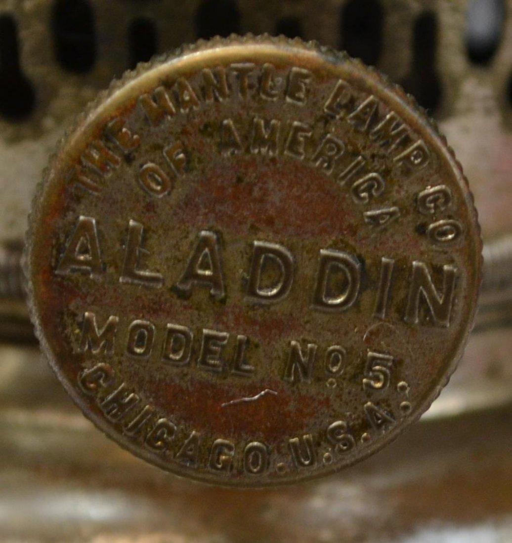 (3) VINTAGE ALADDIN KEROSENE LAMPS, MODELS B & 6 - 10