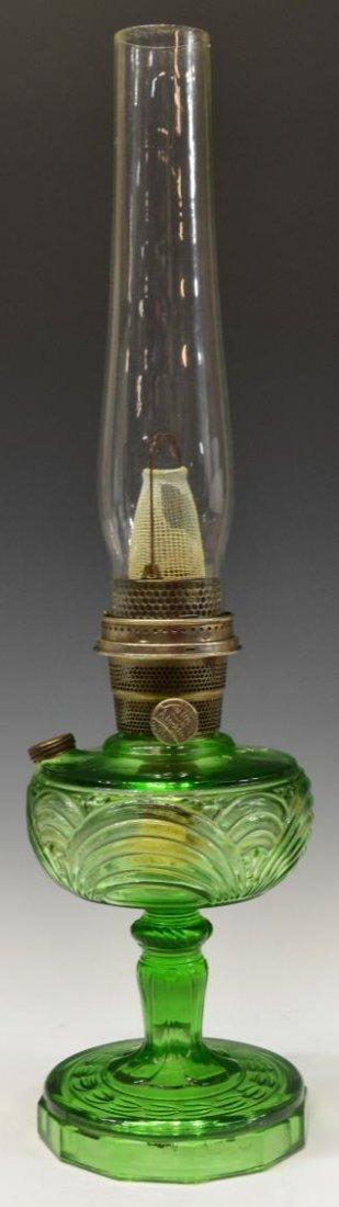 (3) VINTAGE ALADDIN KEROSENE LAMPS, MODELS B & 6 - 5
