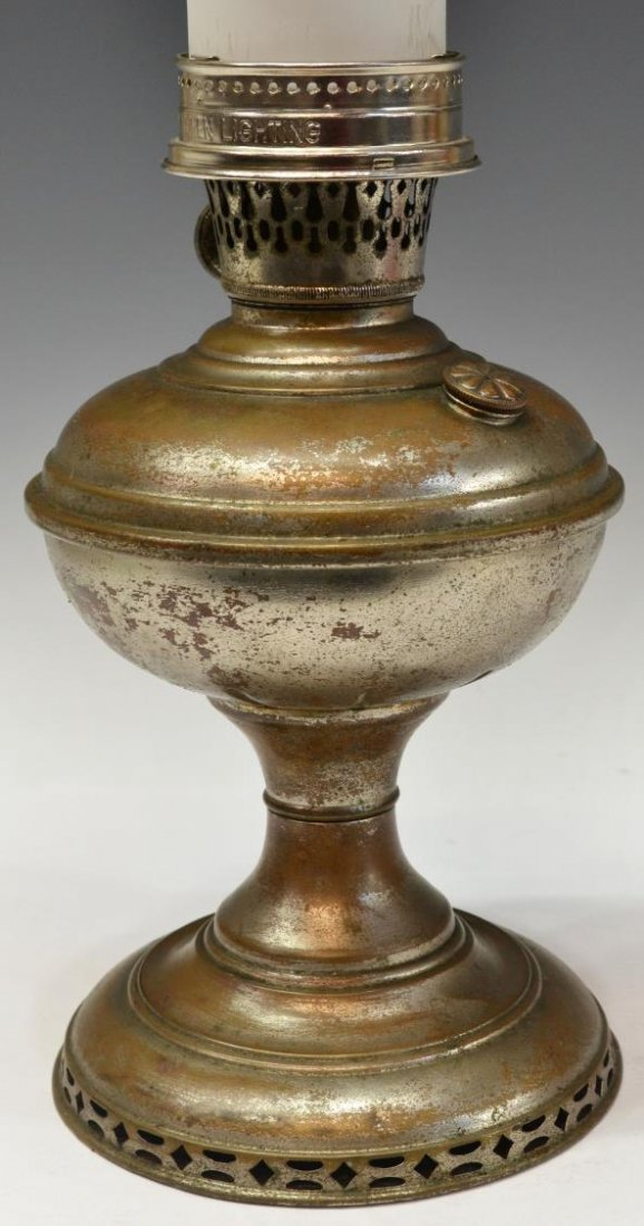 (3) VINTAGE ALADDIN KEROSENE LAMPS, MODELS B & 6 - 9