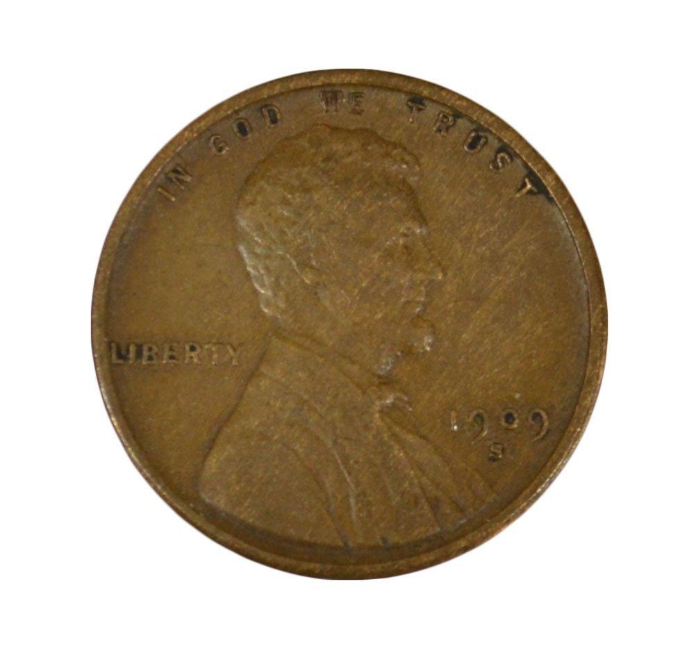 (89) ALL PENNIES 1909VDB THROUGH 1040'S, 1909S VDB