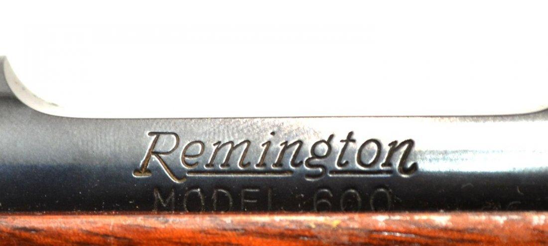 REMINGTON MODEL 600 RIFLE, .222 REM CALIBER - 5