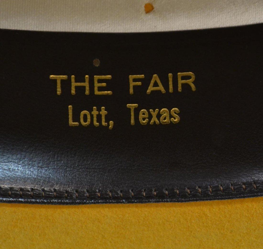 (3) WESTERN COWBOY HATS, TEXAS - 10
